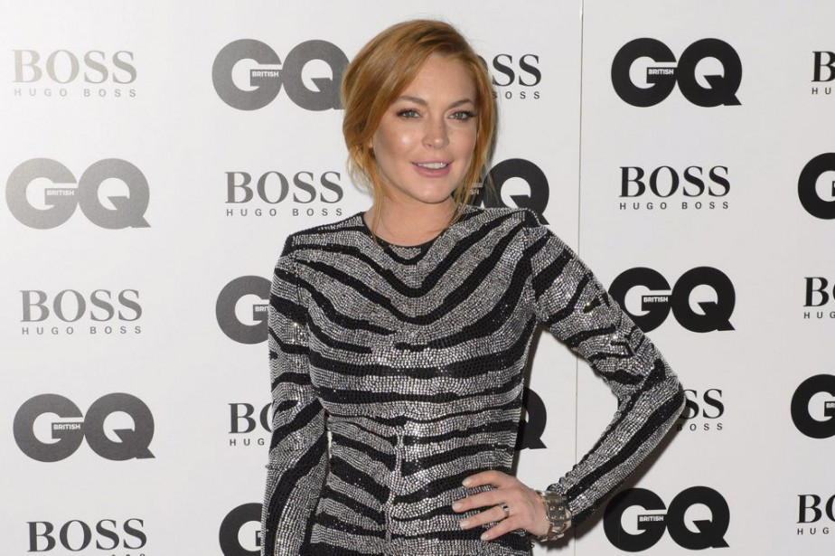 Lindsay Lohan... (Photo: archives AP)