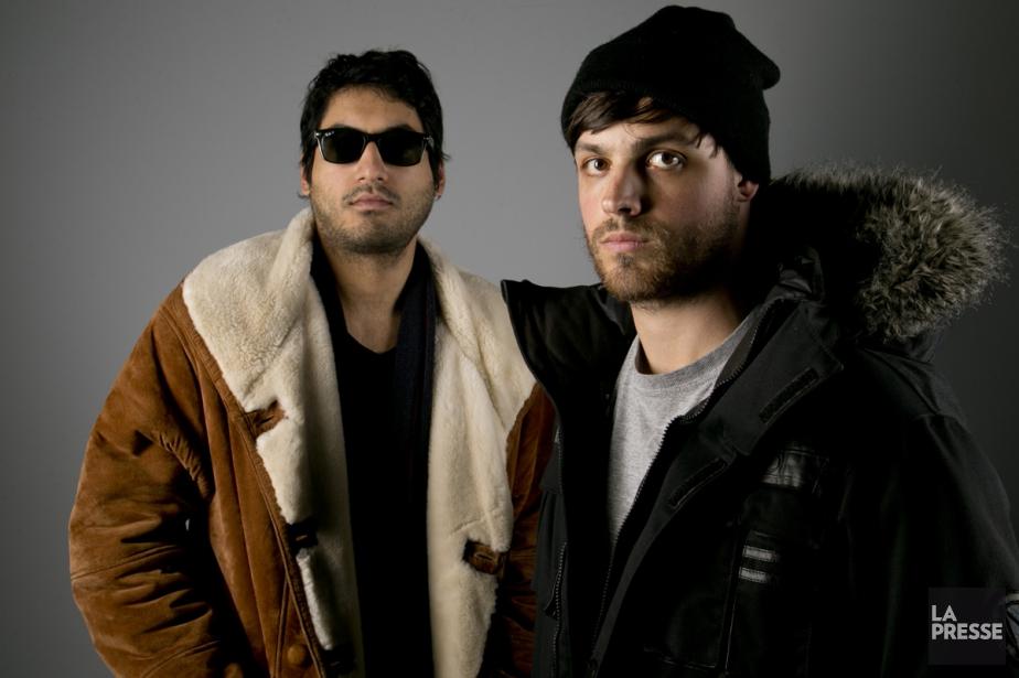 Le chanteur et guitariste Susil Sharma (à gauche)... (Photo: David Boily, archives La Presse)