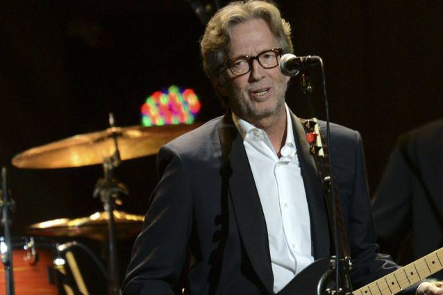 Eric Clapton... (Photo: archives AFP)