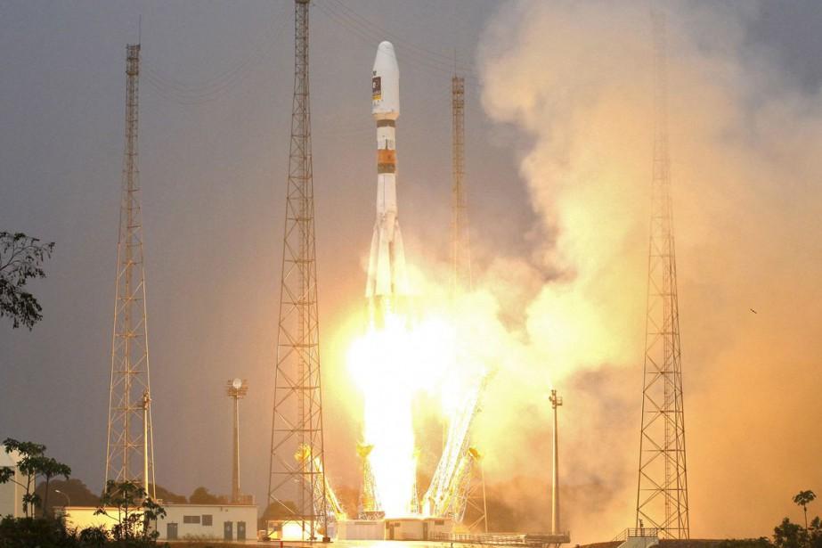 Une fusée russe Soyouz... (Photo Benoit Tessier, archives Reuters)