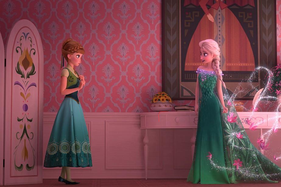 Le studio Disney alimente la «Frozen-mania» avec... (Photo: fournie par Disney)
