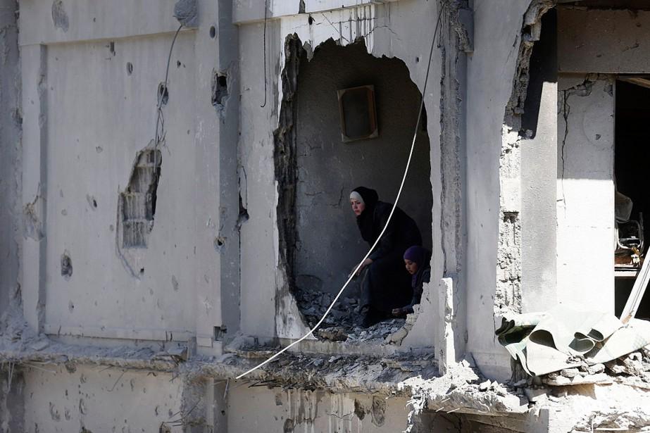 Depuis le début du conflit syrien en mars... (PHOTO Bassam Khabieh, REUTERS)