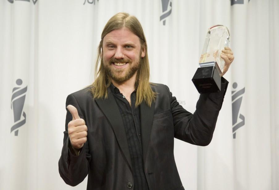 Steve Hill a remporté le Juno de l'album blues de l'année. (La Presse canadienne)