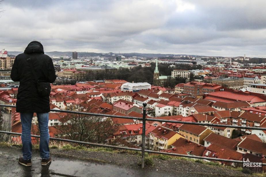 Du haut de la butte Skansberget, on a... (PHOTO JEAN-CHRISTOPHE LAURENCE, LA PRESSE)
