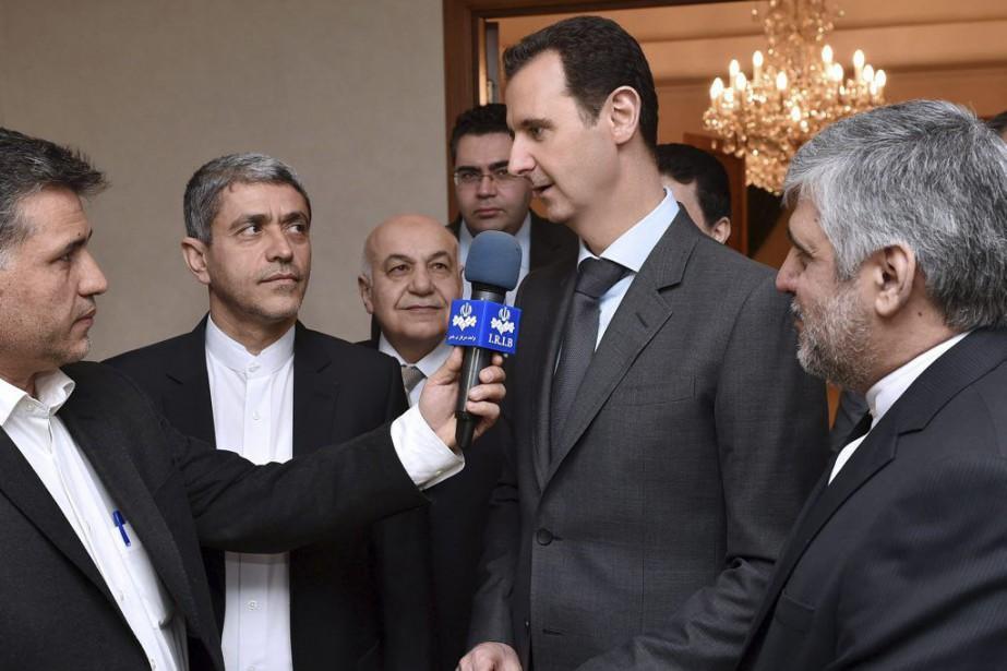 «Nous écoutons toujours les déclarations. Nous devons attendre... (PHOTO AFP/SANA)