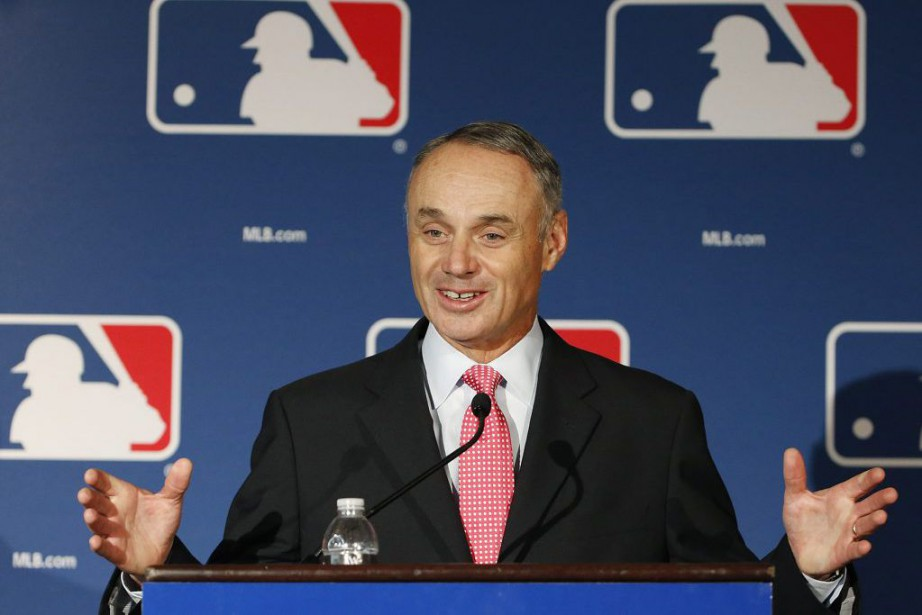 Rob Manfred... (PHOTO Ross D. Franklin, ARCHIVES ASSOCIATED PRESS)