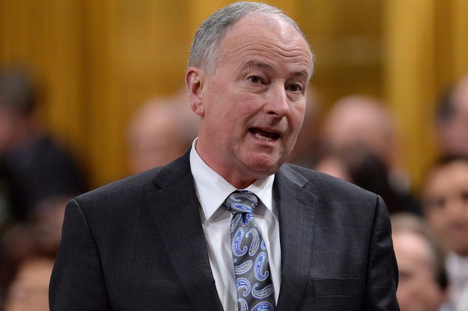 Le ministre des Affaires étrangères, Rob Nicholson.... (Photo Sean Kilpatrick, PC)