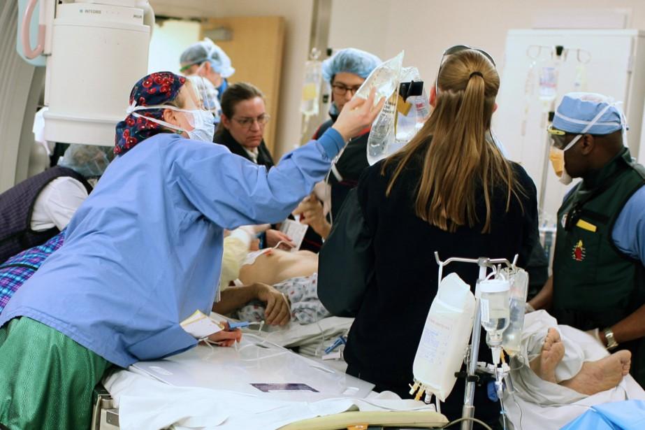 Plus d'un million de personnes subissent une angioplastie... (Photo Todd Heisler, archives The New York Times)