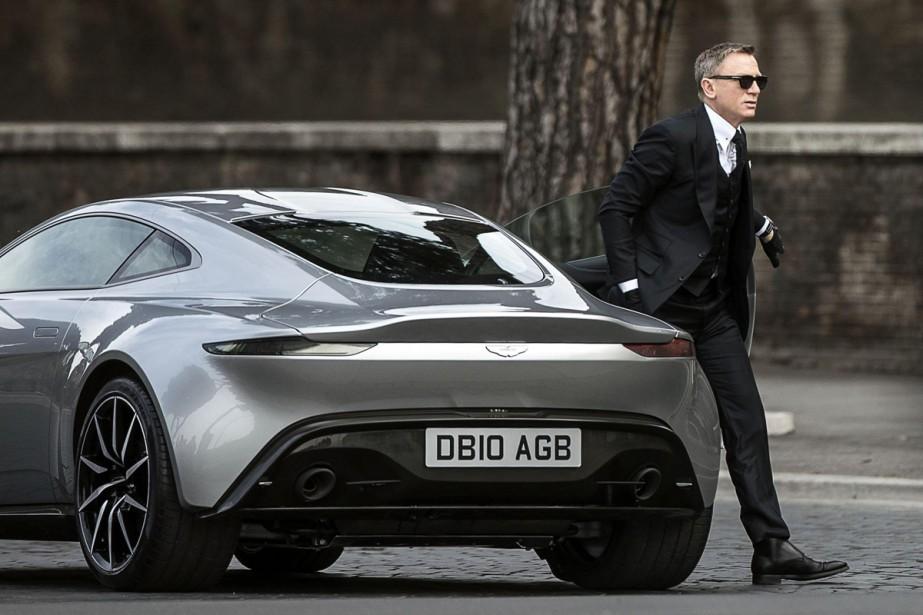 Daniel Craig tourne une scène de Spectre.... (Photo: archives AP)