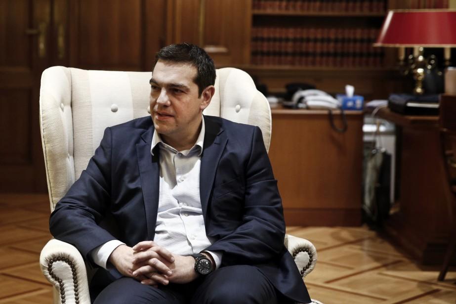 Le premier ministre grec, Alexis Tsipras... (Photo Alkis Konstantinidis, Reuters)