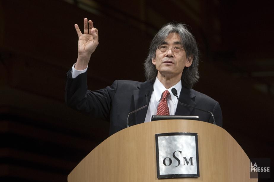 Le chef d'orchestre Kent Nagano estime que L'Aiglon... (Photo: Robert Skinner, archives La Presse)