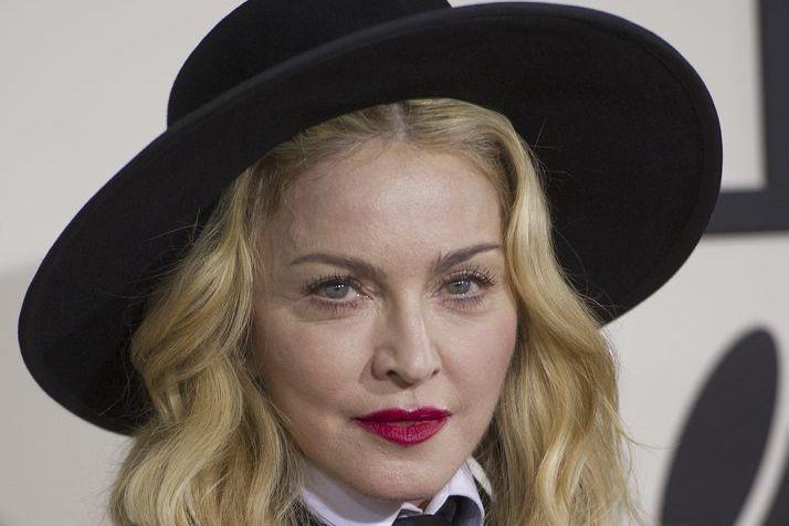 Madonna... (Photo: archives AFP)