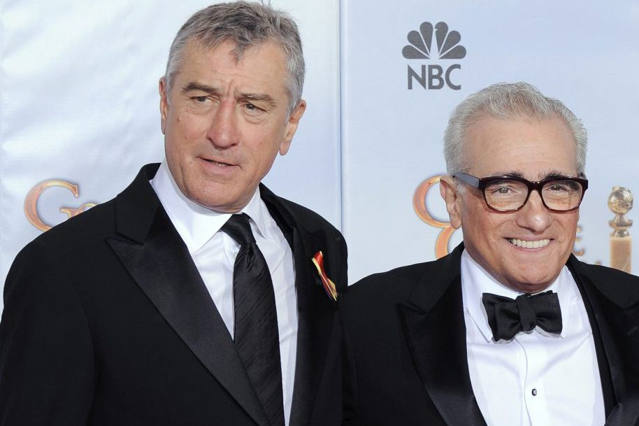 Robert De Niro et Martin Scorsese... (PHOTO ARCHIVES AP)