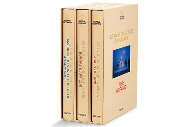 <strong>Objet d'art</strong> Le National Geographic souligne ses 125 ans avec un coffret qui réunit 1404 pages de photographies à couper le souffle. Édition limitée de 125 000 exemplaires. Prix : 595 $. prologue.ca ()