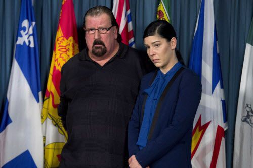 Les parents de Daniel Ten Oever, âgé de... (Photo Adrian Wyld, La Presse canadienne)