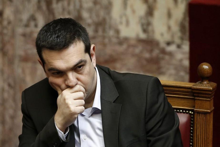 Le premier ministre grec, Alexis Tsipras.... (Photo Petros Giannakouris, AP)