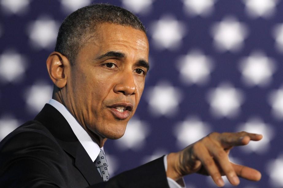 Le président américain, Barack Obama... (Photo Jacquelyn Martin, AP)