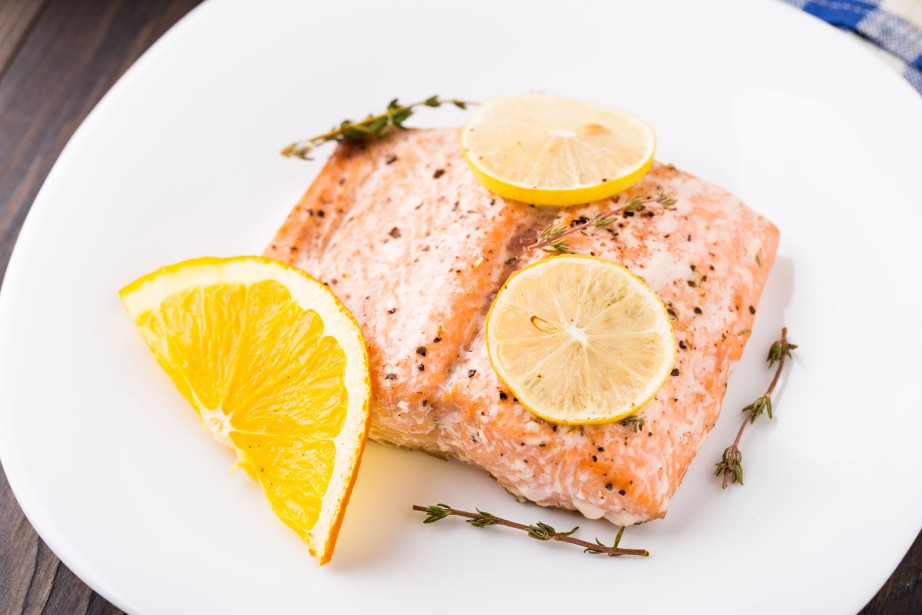 Pavé de saumon... (PHOTO MASTERFILE)