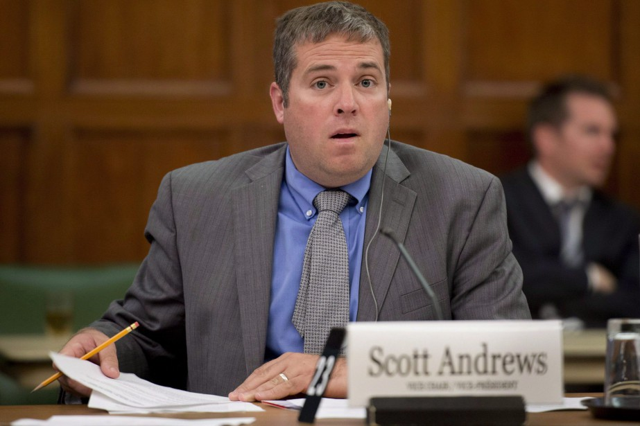 Scott Andrews... (PHOTO ADRIAN WYLD, ARCHIVES LA PRESSE CANADIENNE)