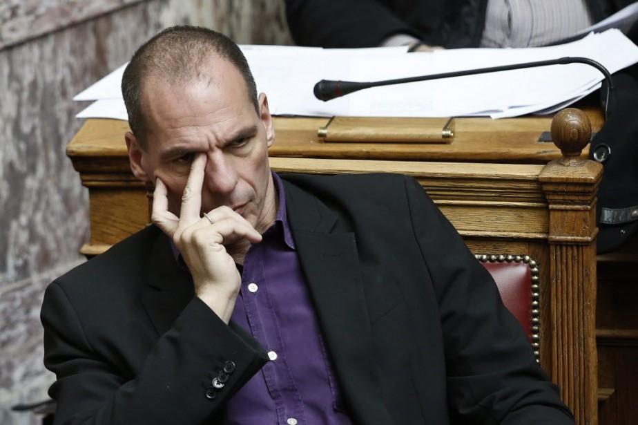 Le ministre grec des Finances, Yanis Varoufakis.... (PHOTO ALKIS KONSTANTINIDIS, REUTERS)