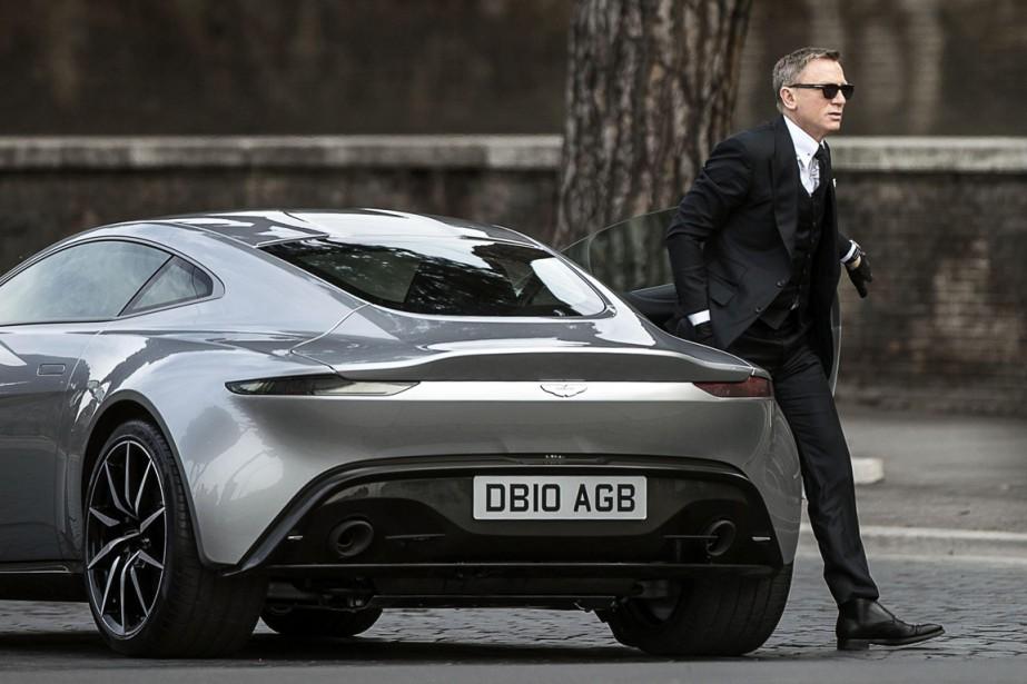 Daniel Craig, qui incarnera à nouveau l'agent 007.... (Photo AP)