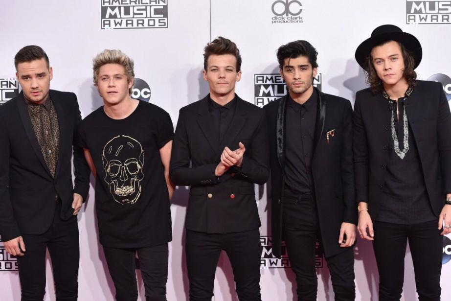 One Direction est extrêmement populaire aux Philippines.... (Photo John Shearer/Invision, AP)