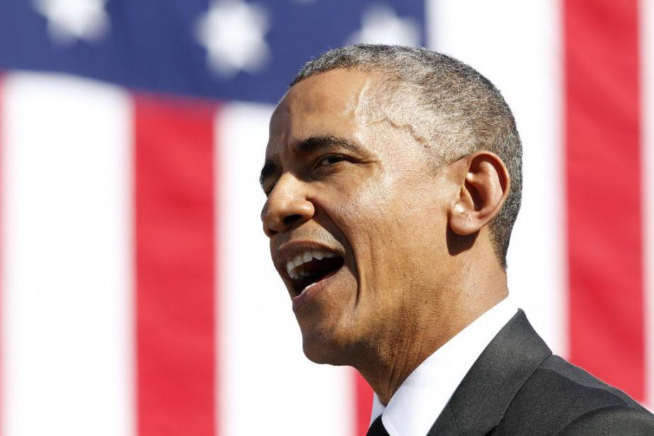 Le président des États-Unis, Barack Obama.... (PHOTO JACQUELYN MARTIN, ARCHIVES AP)