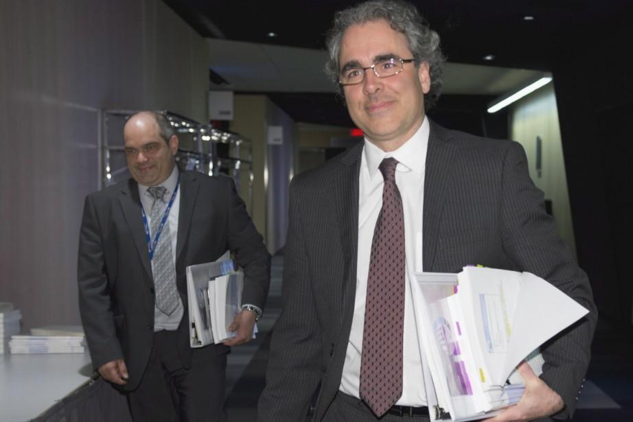 Le président de la Commission d'examen sur la... (La Presse Canadienne, Jacques Boissinot)