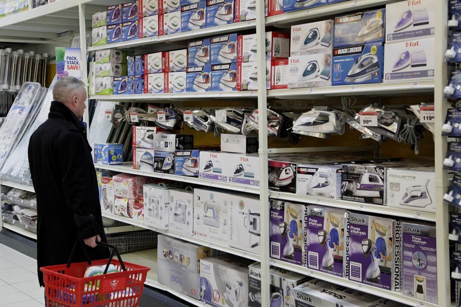 Les prix à la consommation ont augmenté dans... (PHOTO ARCHIVES AP)