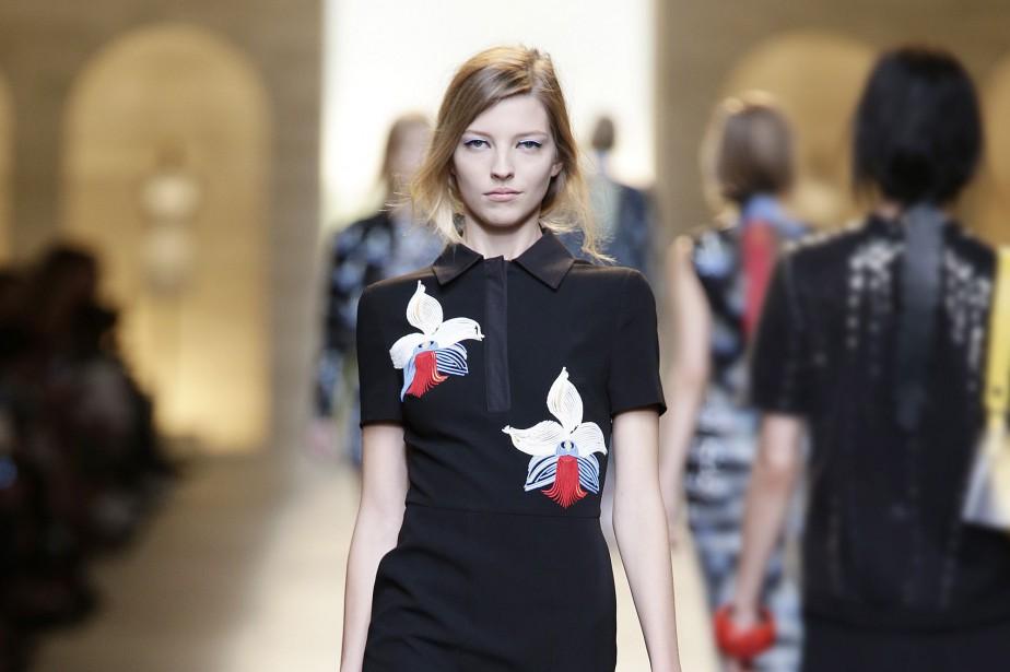 Karl Lagerfeld a hissé le polo dans les... (Photo tirée du site de Fendi)
