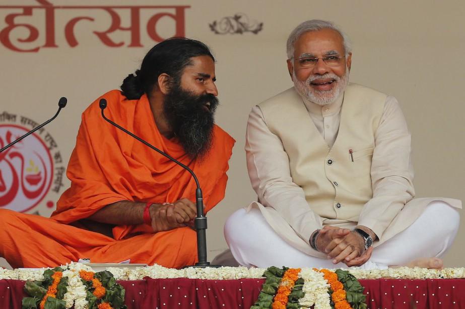 Le premier ministre indien Narendra Modi, sur la... (Photo Adnan Abidi, Archives Reuters)