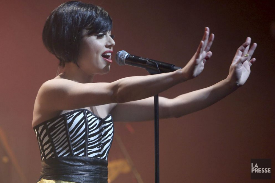 La chanteuse Sally Folks lançait mardi son album... (Photo: Martin Chamberland, La Presse)