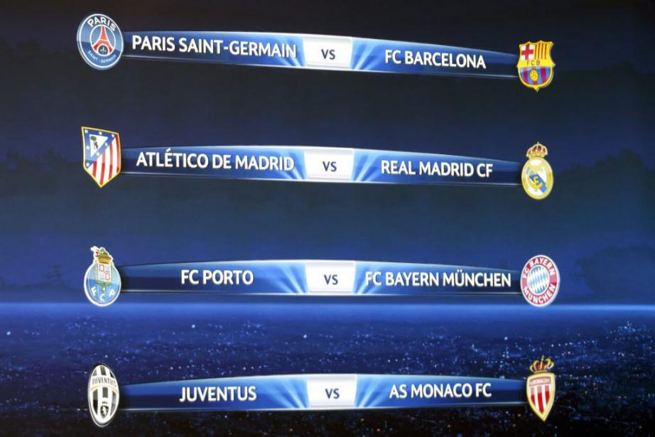 L'Atletico sera l'hôte du match aller le 14... (Photo Salvatore Di Nolfi, AP)