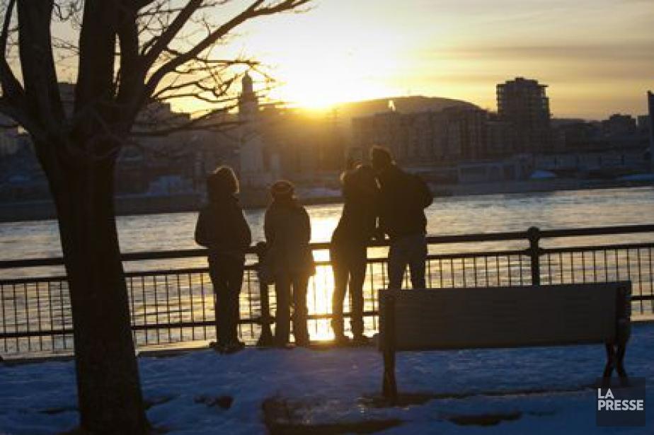 Comme l'indique Environnement Canada, l'arrivée du printemps ne... (PHOTO ANDRÉ PICHETTE, ARCHIVES LA PRESSE)