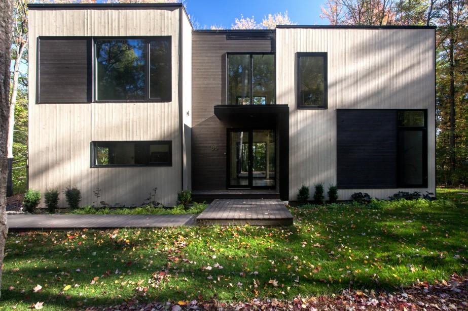 La configuration de la maison a été pensée... (PHOTO FOURNIE PAR GABRIEL ROUSSEAU)