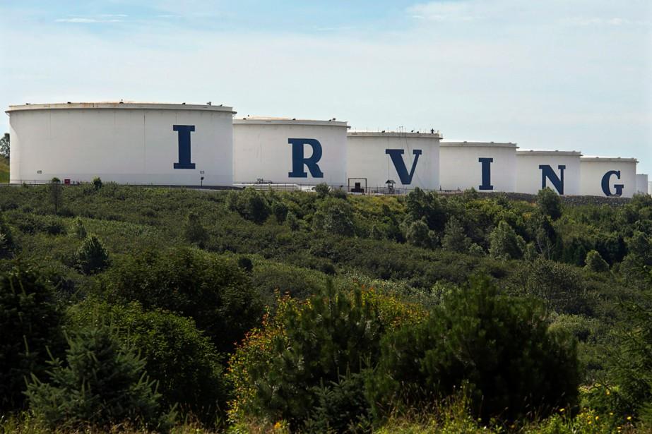 Irving Oil consent à verser 75 millions de... (PHOTO ANDREW VAUGHAN, ARCHIVES PC)