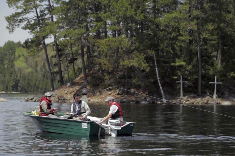 Le lac dispense ses cadeaux avec parcimonie. En... (Photo fournie par la SAQ)