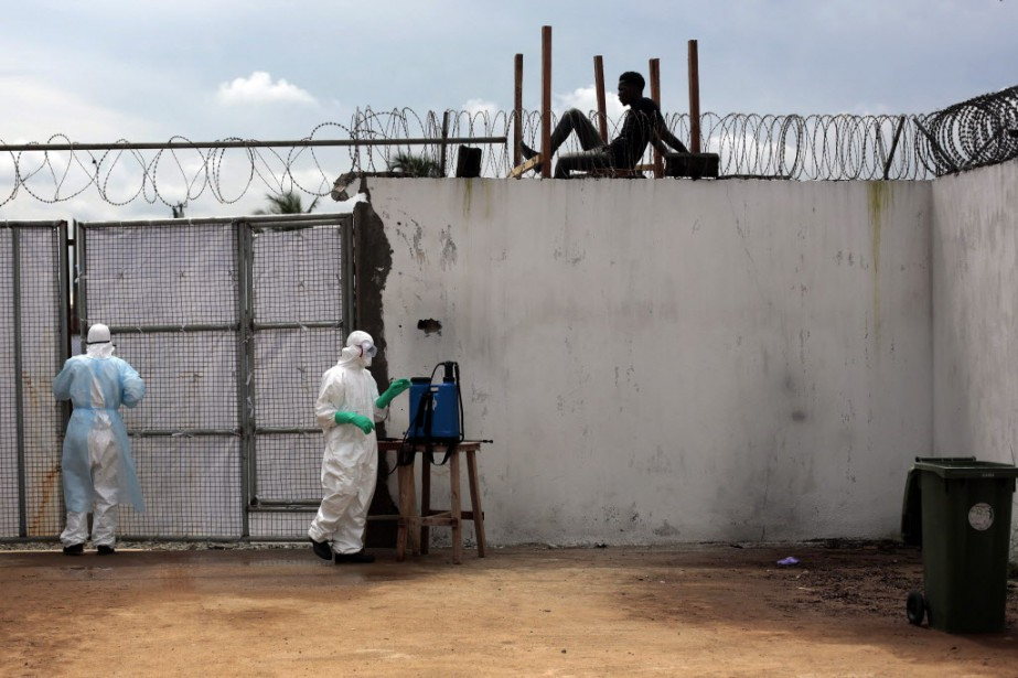 Le Liberia est avec la Guinée et la... (Photo Jerome Delay, archives AP)