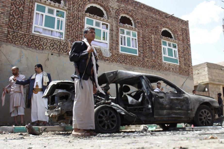 Le Yémen est au bord de la guerre... (PHOTO HANI MOHAMMED, AP)