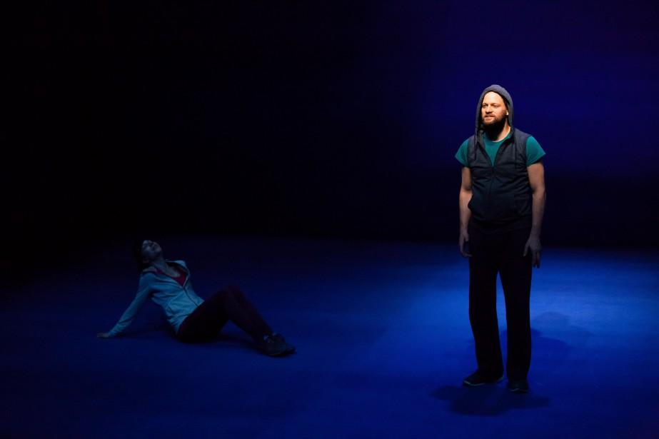 David Boutin dans la pièce Illusions... (Photo par le Prospero)