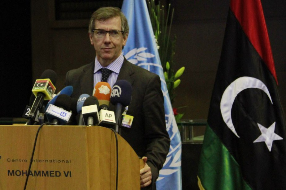 L'envoyé spécial de l'ONY en Libye, Bernardino Leon.... (Photo Paul Schemm, AP)