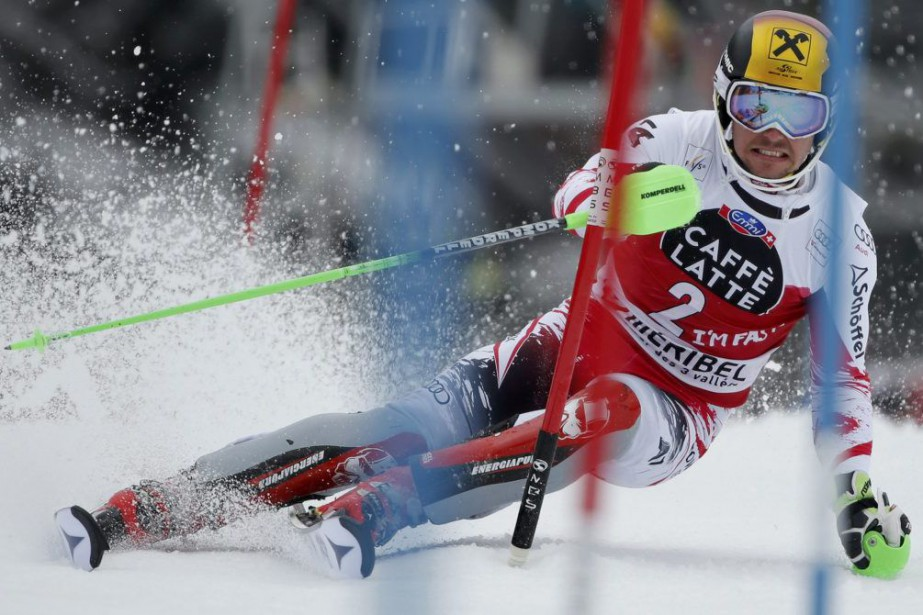 Marcel Hirscher... (PHOTO CHRISTIAN HARTMANN, REUTERS)