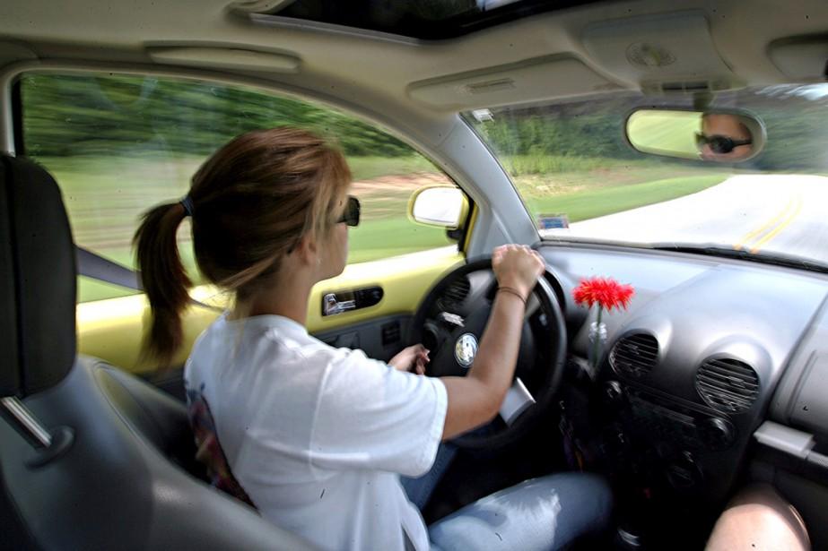 L'interdiction de conduire serait possible seulement quand l'auto... (Photo d'archives)
