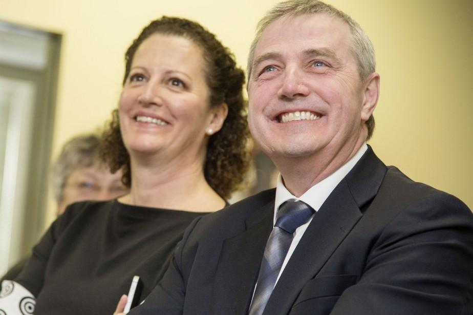 Louise Boisvert et Claude Gagnon ()