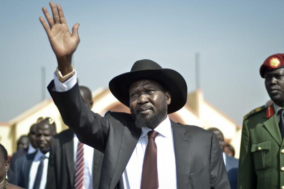 Le président du Soudan du Sud, Salva Kiir... (PHOTO JASON PATINKIN, AP)