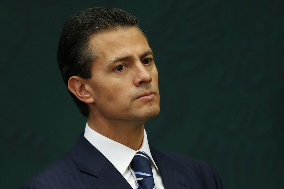 Le président mexicain,Enrique Peña Nieto... (PHOTO ARCHIVES REUTERS)