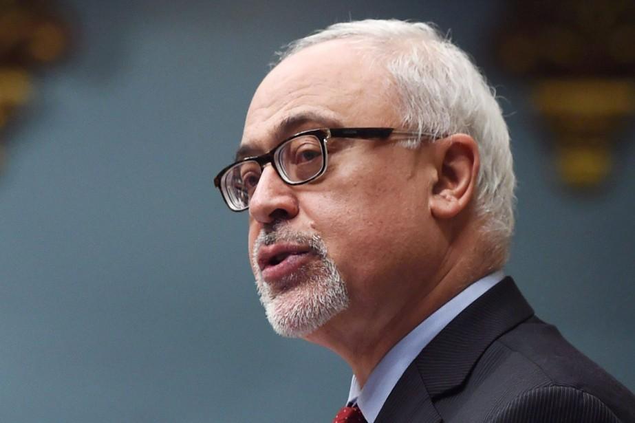 Le ministre des Finances du Québec, Carlos Leitao.... (Photo Jacques Boissinot, La Presse Canadienne)