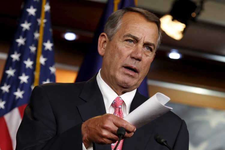 John Boehner... (Photo: Reuters)