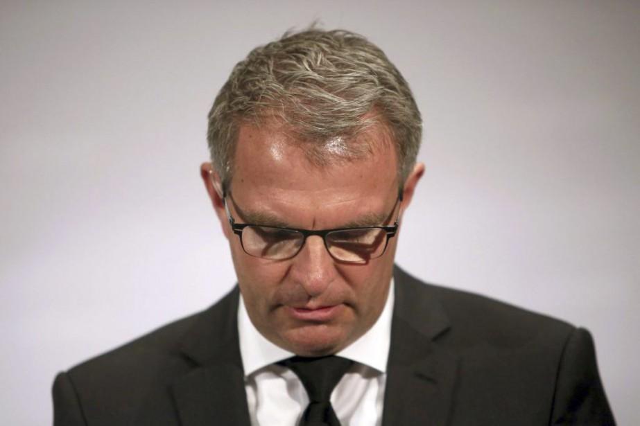 Carsten Spohr, le patron de Lufthansa.... (PHOTO FREDRIK VON ERICHSEN, AFP)