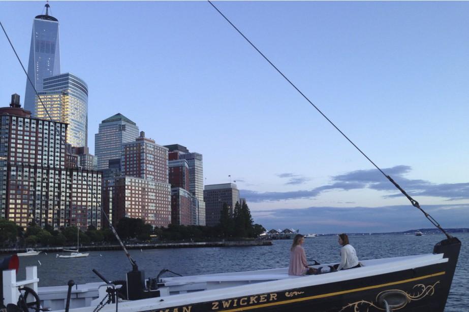 L'été, le plus grand bateau de bois de... (Photo fournie par Marie-Joëlle Parent)
